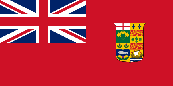 Canadian Red Ensign 1868-1921
